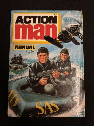 VINTAGE ACTION MAN - ANNUAL 1985 (ref30